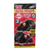 NTI EXTRA STRENGTH LARGE Rat Sticky Glue Traps Boards 2PK