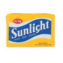 Sunlight Soap 2 x 150g Stain Removal Bars Laundry Household Use│Lemon