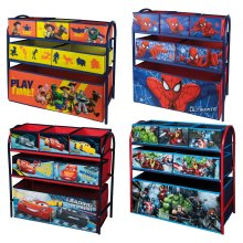 Disney & Marvel Metal Rack Organiser With 6 Drawers