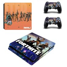 PS4 Slim Console GameTheme Decal PlayStation4 Controller Vinyl Sticker