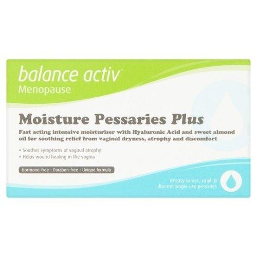 Balance Activ Moisture Pessaries Plus - 10 x 2g | Vaginal Dryness Treatment
