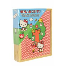 Wooden Puzzle Hello Kitty 4 Puzzles - Nursery Pre-School Toddler