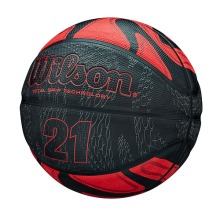 Wilson 21 Series TGT Basketball Total Grip Technology Size 7 Red/Black