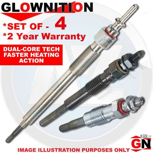 For Nissan Diesel Heater Ignition Glow Plugs Plug Set (X4)