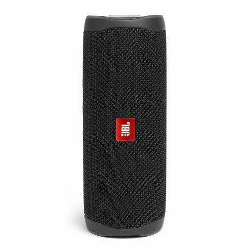 (Black) JBL Flip 5 Portable Waterproof Speaker