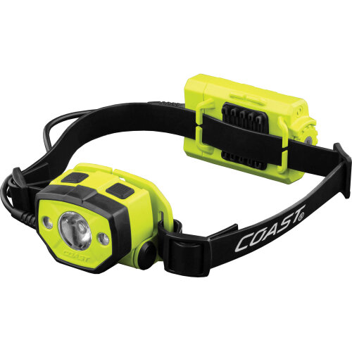 COAST HZ025 Intrinsically Safe LED Headlamp (Green)