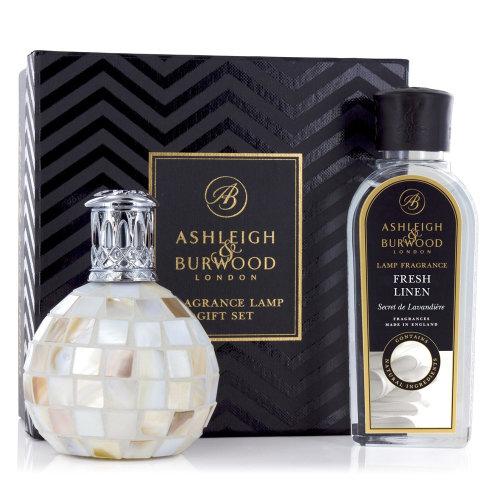 Ashleigh & Burwood Fragrance Oil Lamp Home Gift Set Diffuser Arctic Tundra