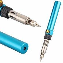 Gas Blow Torch Welding Soldering Iron Gun Refillable Butane Pen Tools