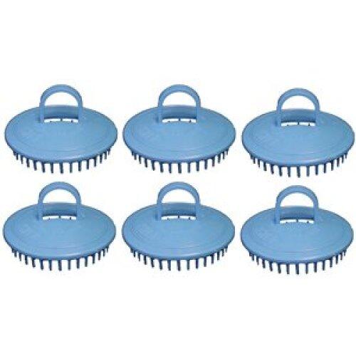 Century Shampoo Scalp Massage Brush #100 * Blue * 6 - Brushes