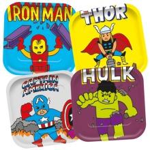 Pop Comic Square Plates