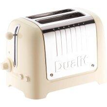 Dualit Lite 26202 2 Slice Toaster - Gloss Cream