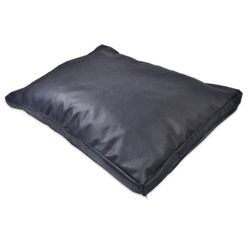 Rough Leather Cushion Design Dog Bed