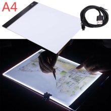 A4 LED Ultra Slim Art Craft Drawing Tattoo Light Box Pad Board