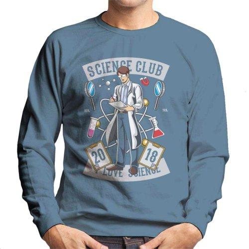 I Love Science Club Men's Sweatshirt