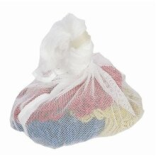 Large White Net Mesh Laundry Bags 60 x 90 cm (2 Pack) - Washing Laundry Bags