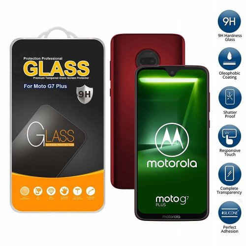 Screen Protector Tempered Glass For Motorola Moto G7 Plus