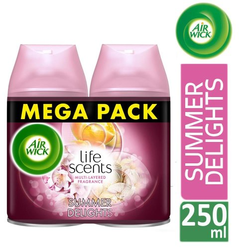 Air Wick Life Scents Freshmatic Max Twin Refill Summer Delights 250ml