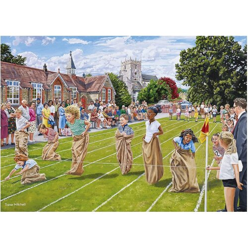 Falcon Deluxe Sports Day Jigsaw Puzzle (1000 Pieces)