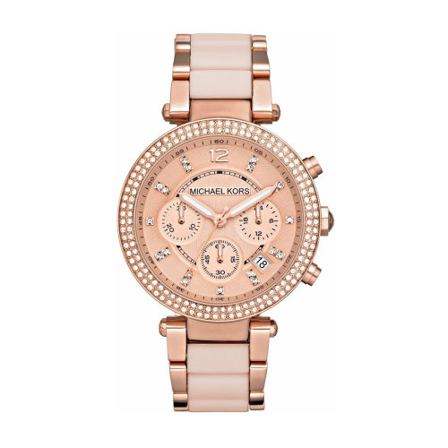 Michael Kors Parker MK5896 Ladies  Rose Gold-Tone Chronograph Watch