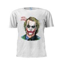 Why So Serious T Shirt Funny Joker T Shirt Men Tee
