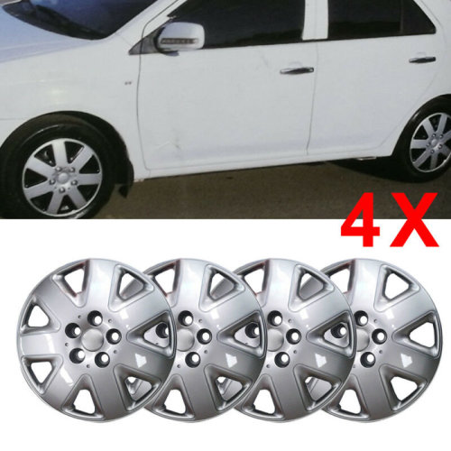 "14"" UNIVERSAL WHEEL TRIMS CAR COVERS HUB CAPS PLASTIC 14INCH"