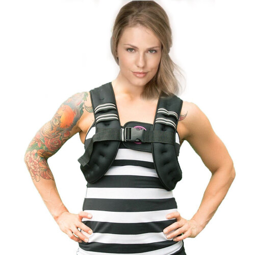 10KG Weighted Vest Home Gym Training Jacket Running Weight Loss