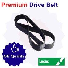 Lucas Drive Belt for Subaru Estate 1.6 Litre Petrol (03/85-12/92)