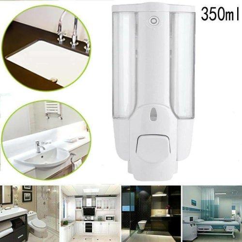 Wall Mounted Soap Liquid Dispenser Sanitizer Shampoo Hand Wash
