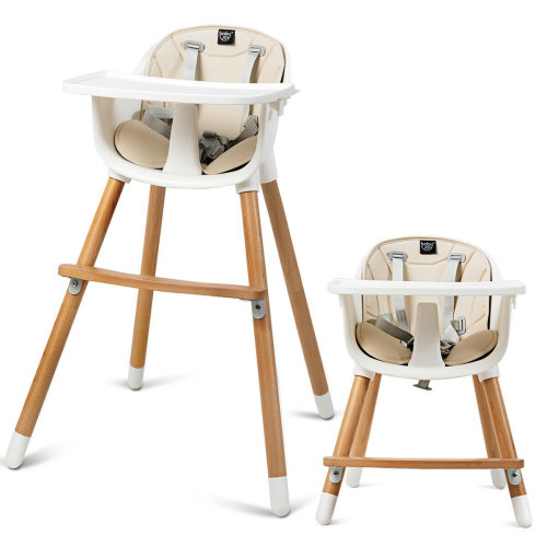 2 in 1 Baby High Chair Infant Child Feeding Seat Highchair Food Tray