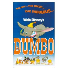 "Poster - Studio B - Dumbo Classic 23""x35"" Wall Art p6295"