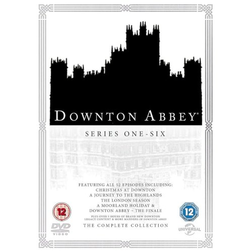Downton Abbey Series 1 to 6 Complete Collection DVD [2016]