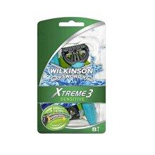 Wilkinson Sword Xtreme 3 Sensitive Men's Disposable Razors x8