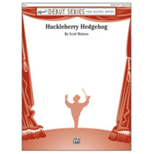 Alfred 00-37802 HUCKLEBERRY HEDGEHOG-DS