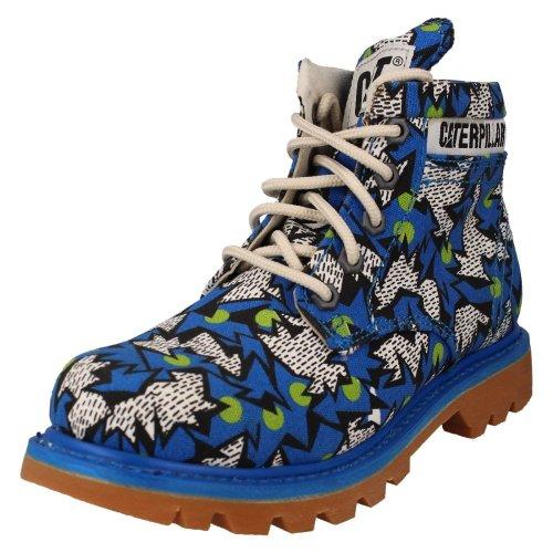 (Blue, UK 3) Ladies Caterpillar Casual Ankle Boots Ridge Walala P307616