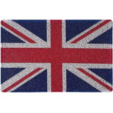 Nicoman Flag Doormat UK British Sign Royal Army Navy RAF MOD Family Door Mat-(60x40cm, Union Jack)