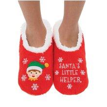 Childs Santas Little Helper Christmas Snoozies