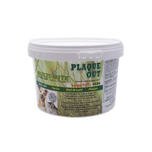 PLAQUE OUT Cat and Dog Tartar & Bad Breath 450G Pot