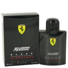 Ferrari Scuderia Black Signature by Ferrari Eau De Toilette Spray 4.2 oz