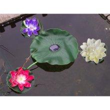 Floating Lily Pad Solar Light - Pond Decoration