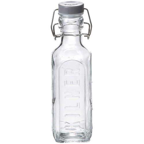 Kilner Clip Top Bottle, Clear/Transparent, 0.3 Litre