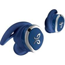 Jaybird - RUN True Wireless In-Ear Headphones - Blue Steel - Refurbished