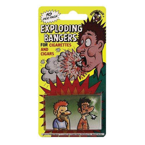 Exploding Cigarette Bangers   Practical Joke Exploding Cigarettes