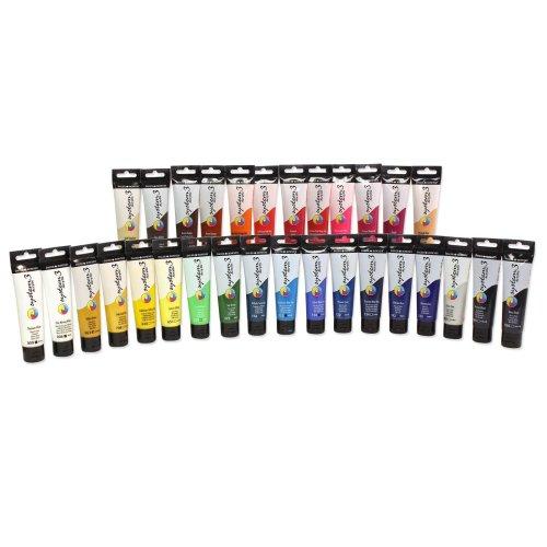 Daler Rowney System 3 Acrylic Paint 59ml Tubes