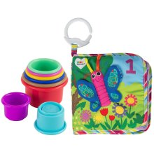 Lamaze Counting Animals Book & Stacking Cups Gift Set