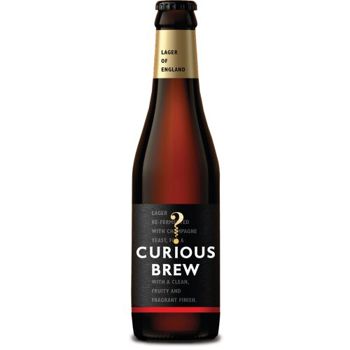 Curious Brew Lager 4.7% - 12x330ml