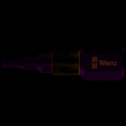 Wera 071076 3840/1 TS Torsion Stainless Steel Insert Bit Hex 6.0 x 25mm