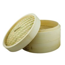 Dexam Bamboo Steamer Set With 2 layers and Lid 20cm