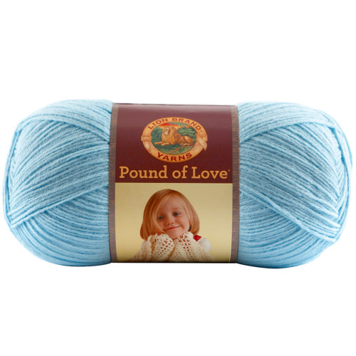 Lion Brand Pound Of Love Baby Yarn-taupe