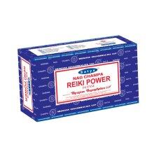 SATYA REIKI POWER INCENSE STICKS JOSS STICKS 15 GM PACKETS FOR MEDITATION & YOGA 12 PACK