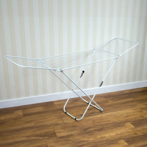 Winged Clothes Airer Folding 18m Indoor Outdoor Laundry Drying Rack